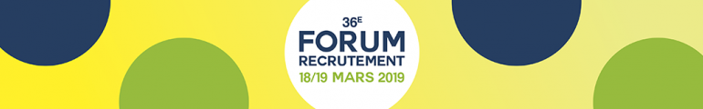 Participez au Forum de Recrutement